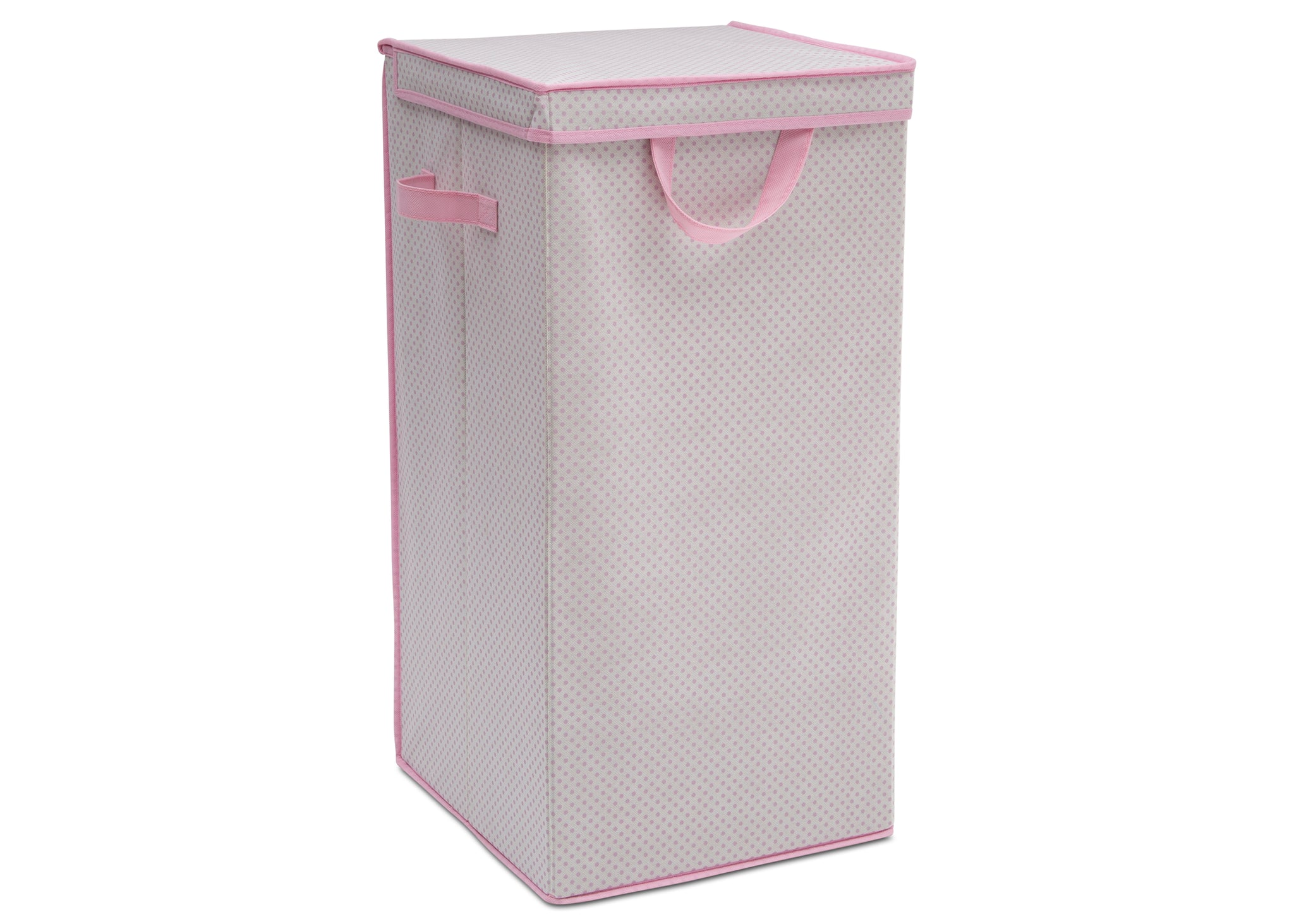 Delta Children Pink (693) Tall Nursery Clothing Hamper (SS2298), Right Silo, c1c
