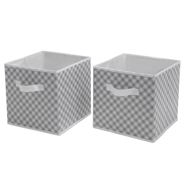 2 Piece Water-Resistant Cube Set (Grey)