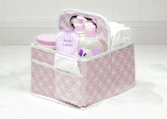 Delta Children Pink Polka Dot (693) Water-Resistant Portable Nursery Caddy (SS2578), Detail c1c