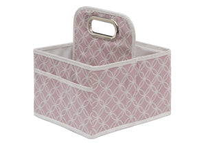 Delta Children Pink Polka Dot (693) Water-Resistant Portable Nursery Caddy (SS2578), Hangtag c2c