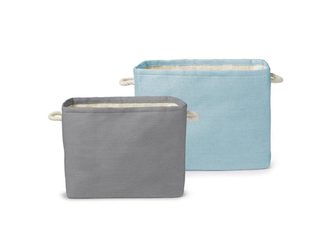 Rectangle Storage Fabric Bins – set of 2
