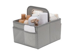 Delta Children Dove Grey (058) Portable Nursery Caddy a2a