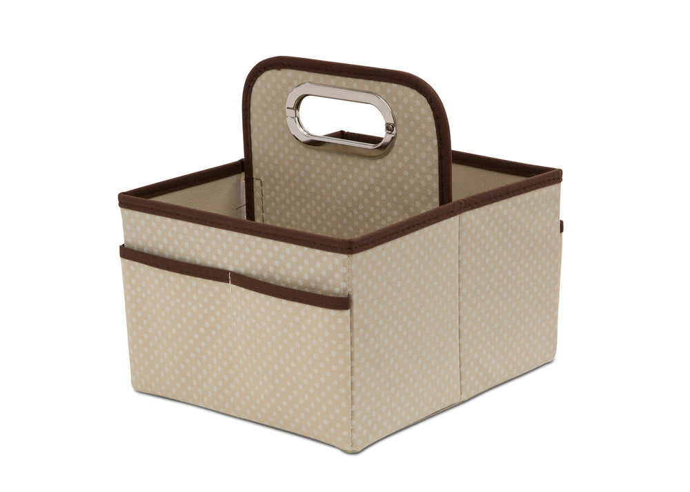 Delta Children Beige (250) Portable Nursery Caddy c1c
