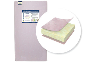 Sertapedic® Bloom Crib and Toddler Mattress (A41103-3190-NO), cutout, a2a No Color (NO)