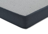 BeautySleep KIDS Full Courtland 8-inch Gel Memory Foam Mattress (F80100), side silo, a1a