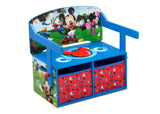 Delta Children Mickey Mouse Activity Bench, Right Bench Silo View