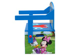 Delta Children Mickey Mouse Activity Bench, Left Side Bench Silo View