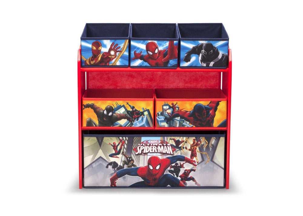 Spider Man Multi Bin Toy Organizer Delta Children