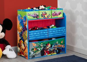 Mickey Mouse Multi-Bin Toy Organizer