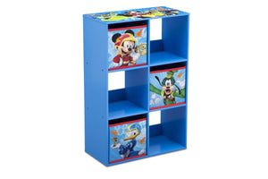Delta Children Mickey Mouse (1053) 6 Cubby Storage Unit (TB83267MM), Side View, a2a