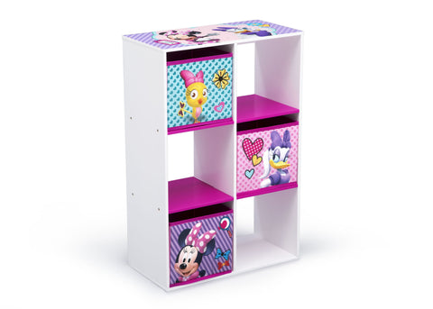 Minnie Mouse 6 Cubby Storage Unit
