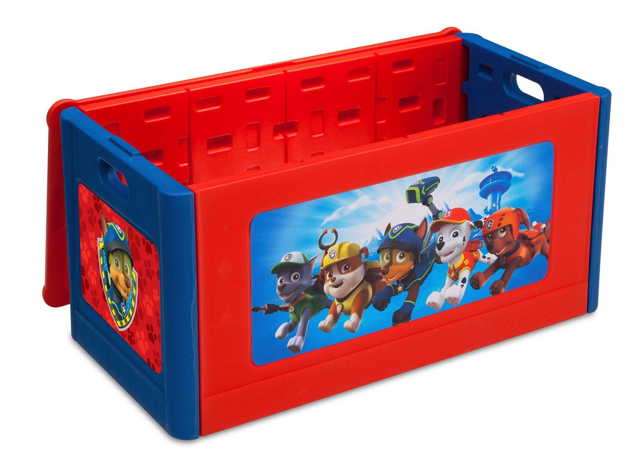 Delta Children Paw Patrol Blow Molded Toy Box Right Side View a1a