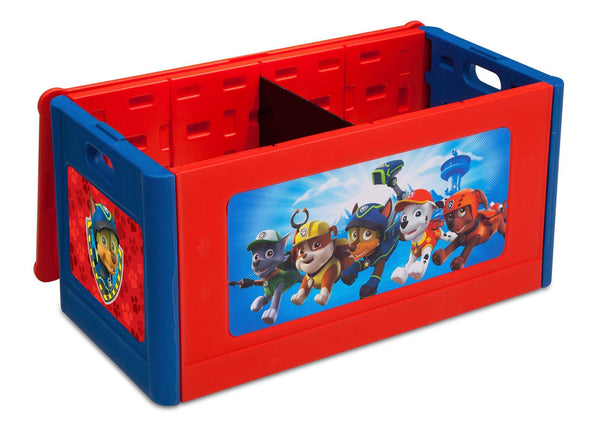 Paw Patrol Kids Toy Organizer Bin Children S Storage Box: PAW Patrol Store & Organize Toy Box