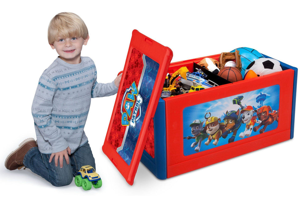 Paw Patrol Toy Organizer Bin Cubby Kids Child Storage Box: PAW Patrol Store & Organize Toy Box
