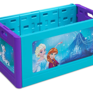 Delta Children Frozen Blow Molded Toy Box Right Side View a1a