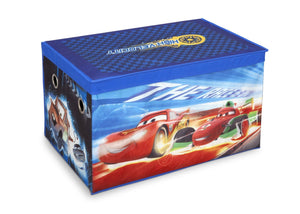 Delta Children Disney/Pixar Cars Toy Box, Right Side View a1a