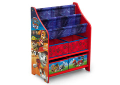 Delta Children Paw Patrol (1121) Book and Toy Organizer (TB83344PW), Right Facing Silo, a1a