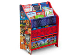 Delta Children Paw Patrol (1121) Book and Toy Organizer (TB83344PW), Right Facing Silo props, a2a