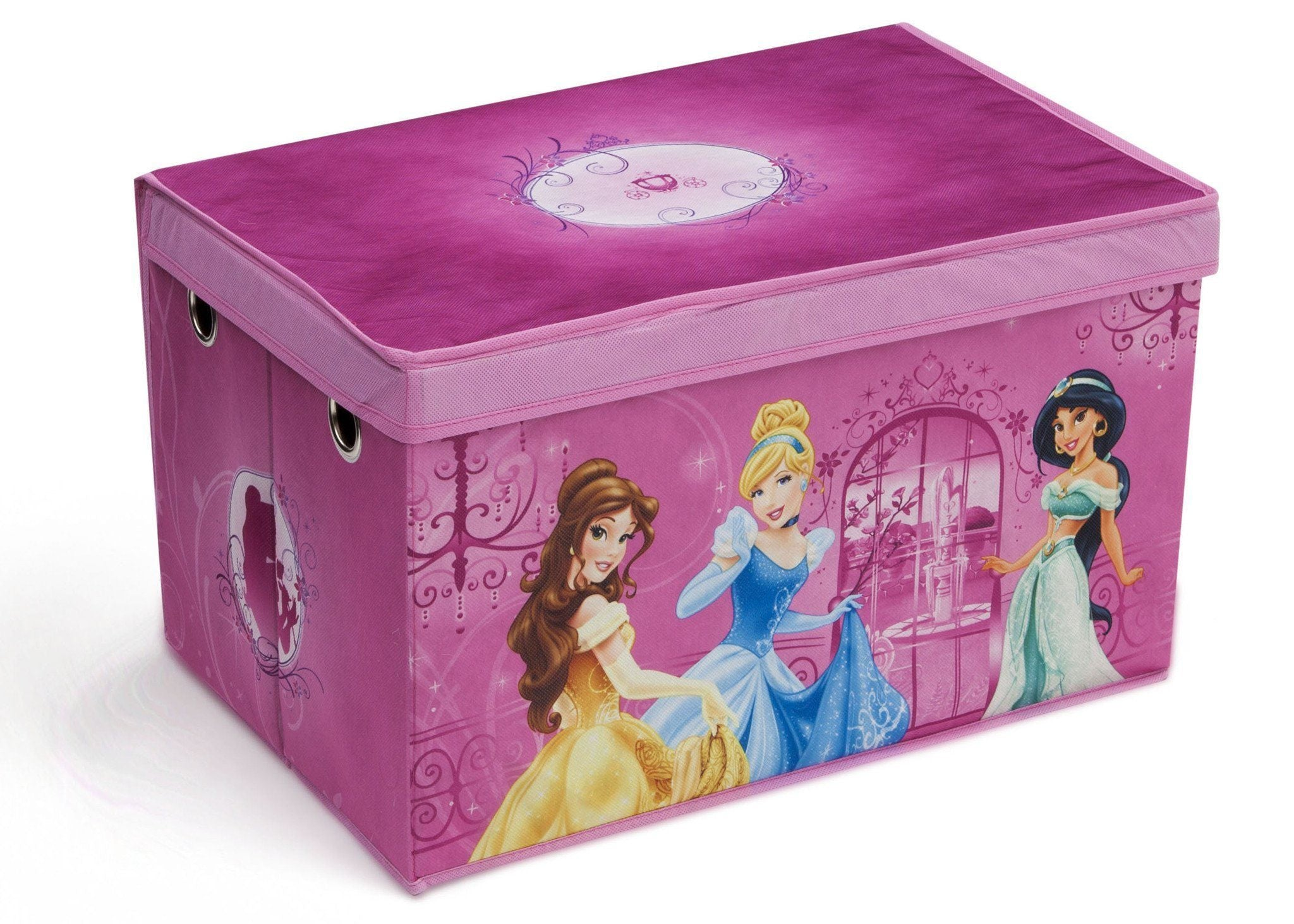 Delta Children Disney Princess Toy Box, Right View a1a