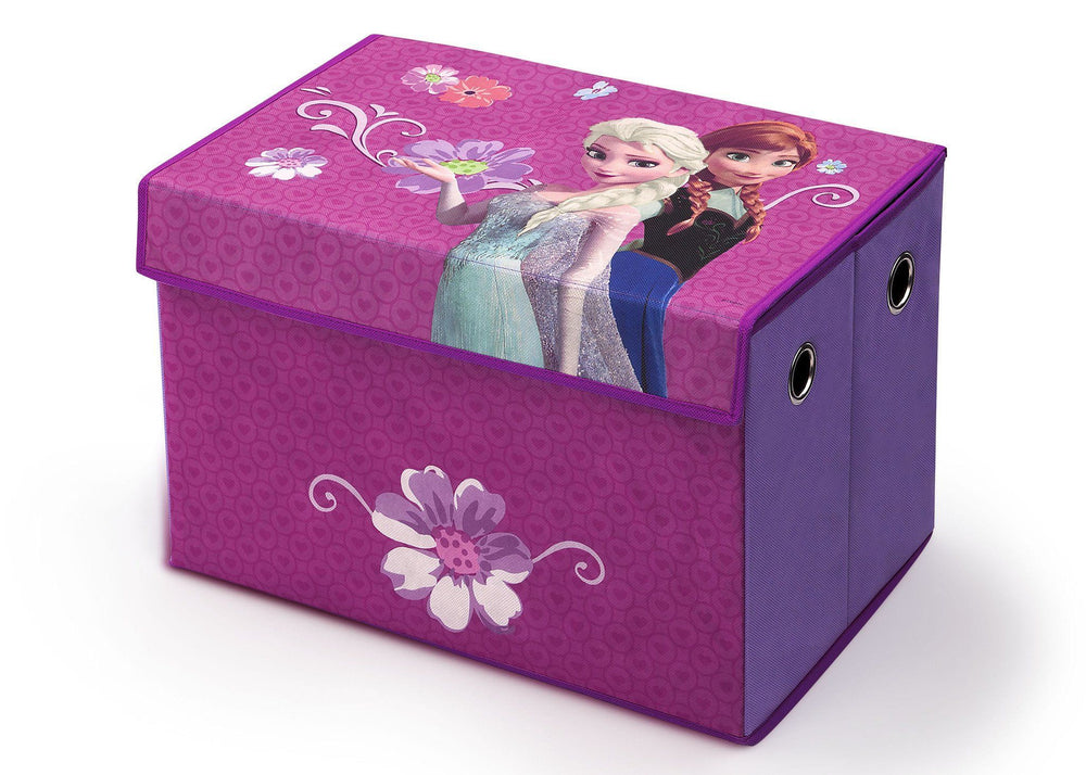 Delta Children Disney Frozen Toy Box, Left View a2a