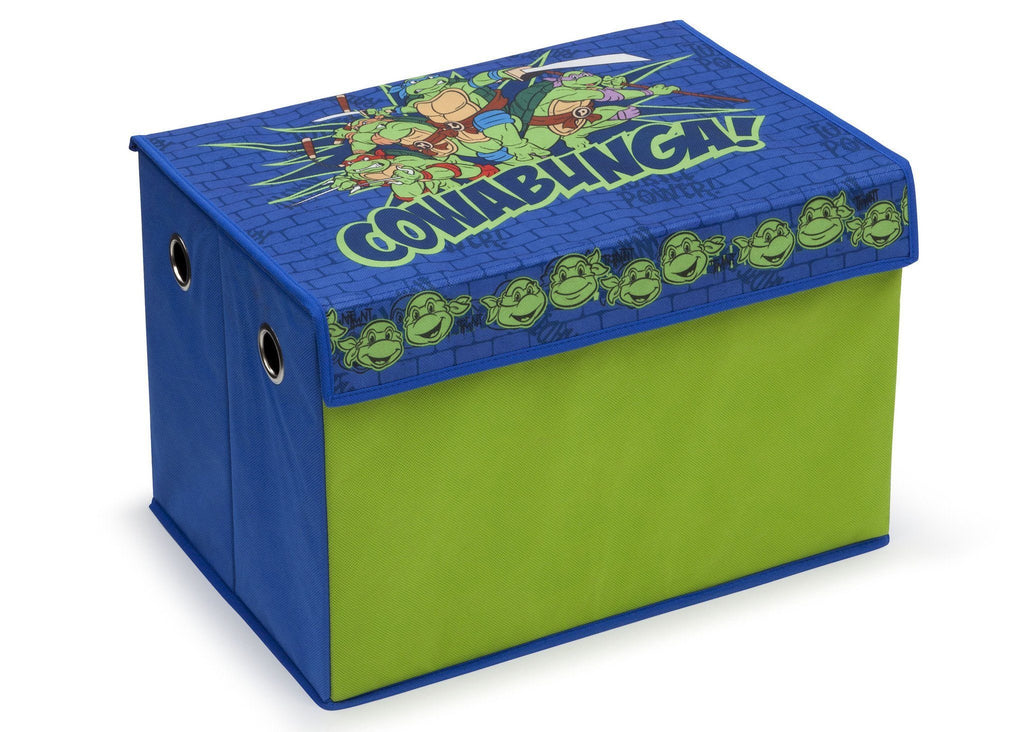 Delta Children Nickelodeon Teenage Mutant Ninja Turtles Toy Box, Right View a1a