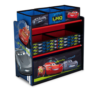 Cars Multi-Bin Toy Organizer