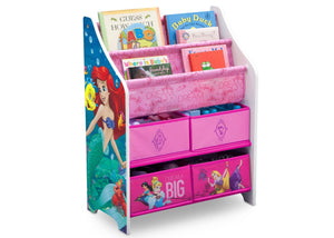 Delta Children Princess Book & Toy Organizer, Right View a1a