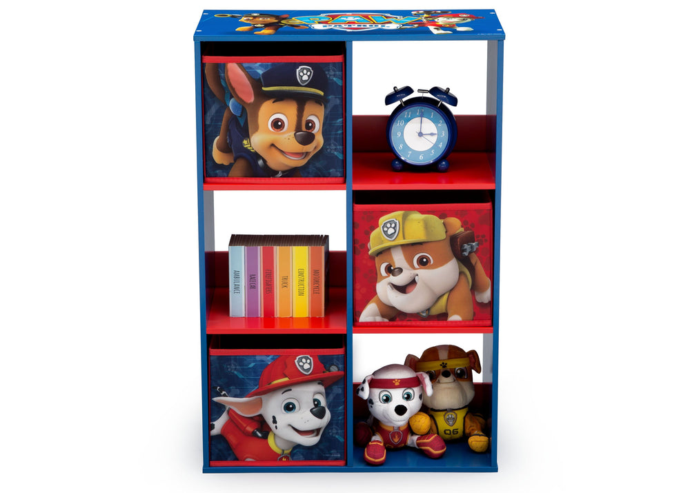 Paw Patrol Kids Toy Organizer Bin Children S Storage Box: PAW Patrol 6 Cubby Storage Unit