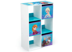 Delta Children Frozen (1091) 6 Cubby Storage Unit (TB83391FZ), Right View, a1a