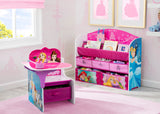 Delta Children Princess Chair Desk with Storage Bin Style-1, Room View a0a