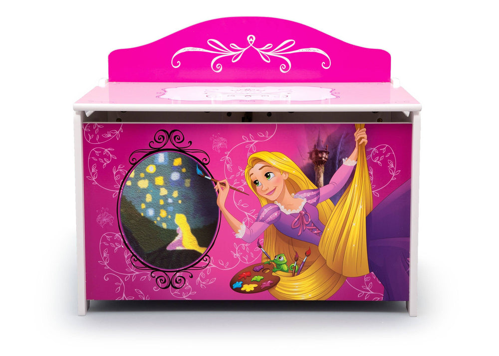 TB83410PS-1034, Princess Deluxe Toy Box, Front, a3a