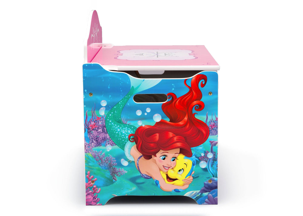 Delta Children Princess (1034) Deluxe Toy Box, Right Side, a4a