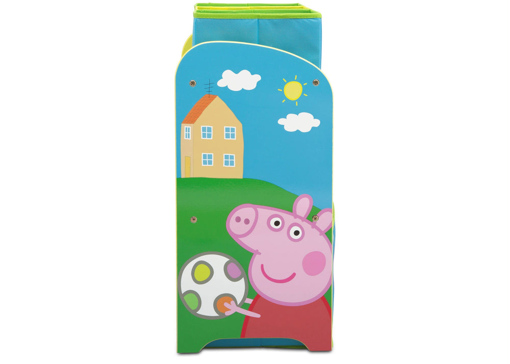Delta Children Peppa Pig Multi-Bin Toy Organizer (TB83412PG-1171), Right Side, a4a