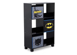 Delta Children Batman (1200) 6 Cubby Deluxe Storage Unit (TB83421BT), Side Silo, a2a