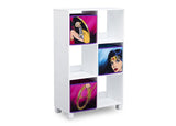 Delta Children Wonder Woman (1210) 6 Cubby Deluxe Storage Unit (TB83423WW), Side Silo, a2a