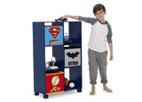 Delta Children Justice League (1215) 6 Cubby Deluxe Storage Unit (TB83424JL), Silo with kid, a4a