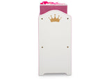 Delta Children Love Girl (1187) Princess Crown Multi-Bin Toy Organizer Side Silo View
