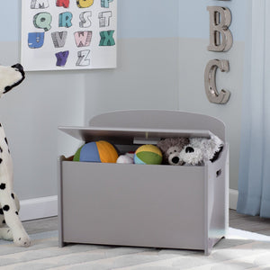 Delta Children Grey (026) MySize Deluxe Toy Box, Room, a0a