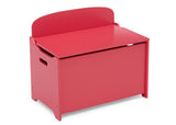 Delta Children Poppy Red (032C) MySize Deluxe Toy Box, Right Silo View