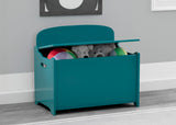 Delta Children Teal (7474C) MySize Deluxe Toy Box, Hangtag View