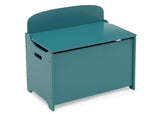 Delta Children Teal (7474C) MySize Deluxe Toy Box, Right Silo View