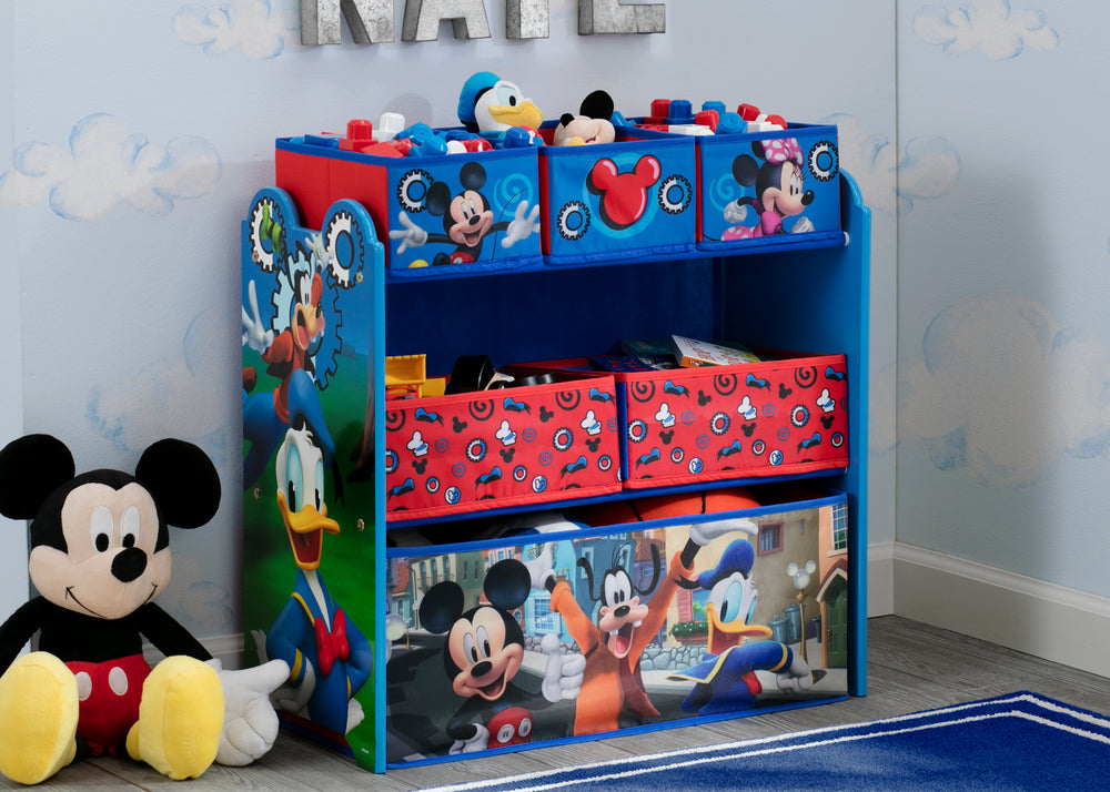 Mickey Mouse Multi Bin Toy Organizer Delta Children