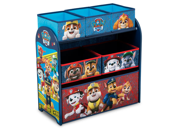 Paw Patrol Kids Toy Organizer Bin Children S Storage Box: PAW Patrol Multi-Bin Toy Organizer