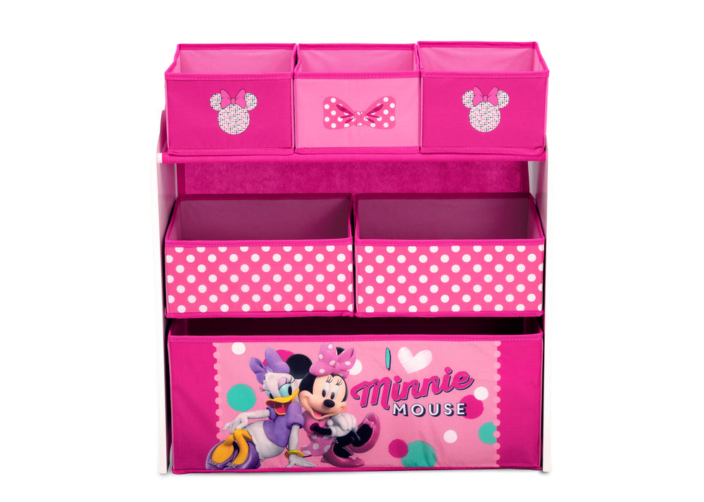 Amazing Minnie Mouse Multi Bin Toy Organizer Delta Children Pdpeps Interior Chair Design Pdpepsorg