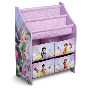 Delta Children Style 1 Fairies Book & Toy Organizer, Right View a1a