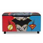 Justice League Storage Bench
