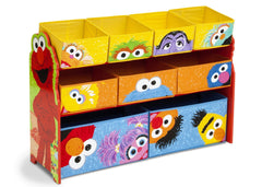 Delta Children Sesame Street Deluxe Multi-Bin Toy Organizer Right View a1a