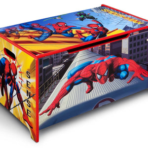 Delta Children Marvel Spider-Man Toy Box Right Side View a1a