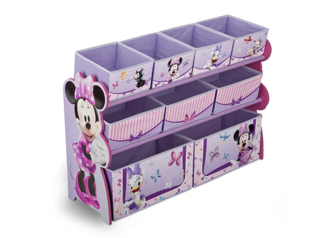Minnie Mouse Deluxe Multi-Bin Toy Organizer