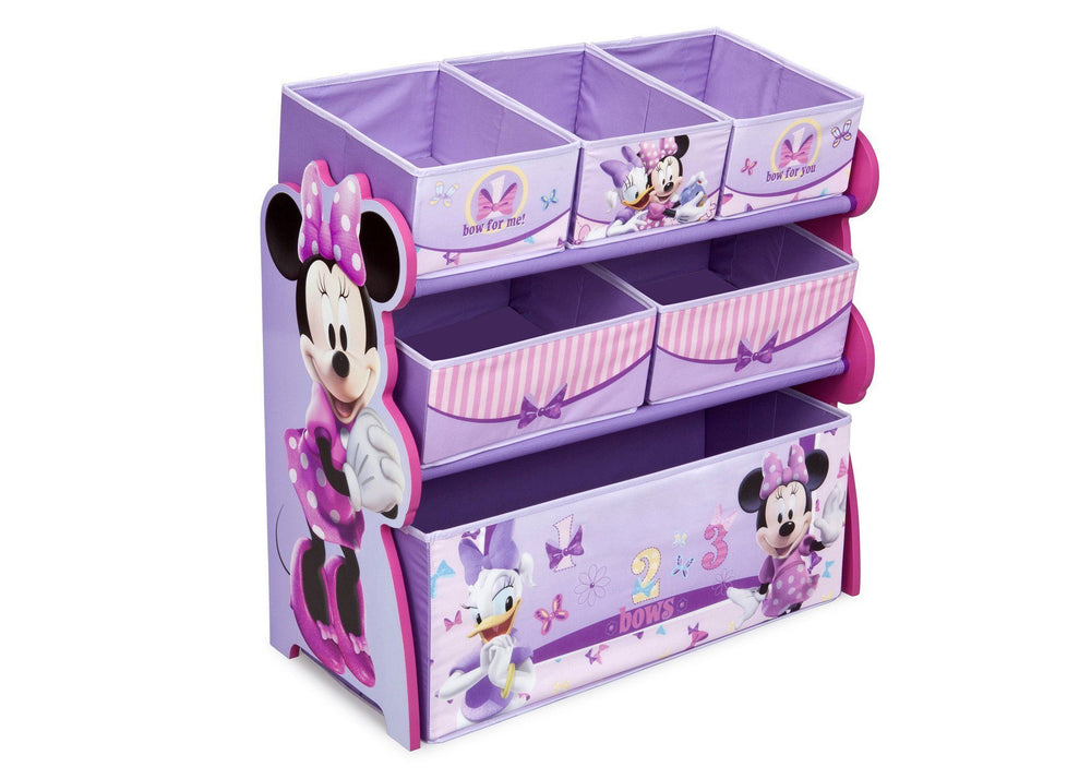 Fine Minnie Mouse Multi Bin Toy Organizer Delta Children Pdpeps Interior Chair Design Pdpepsorg